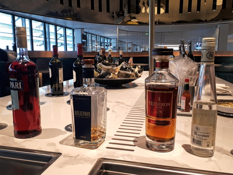 air france lounge booze