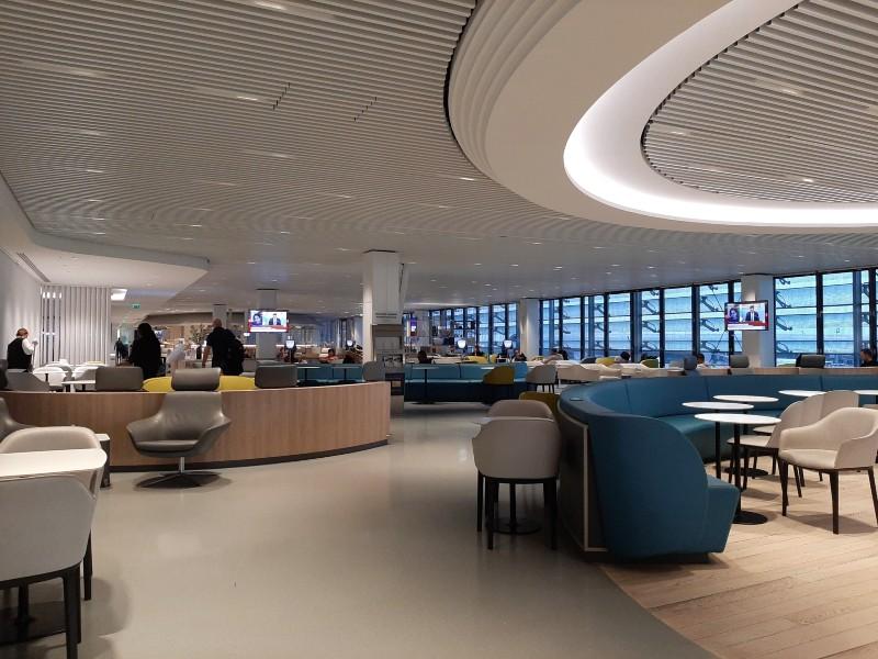 air france business lounge terminal 2e hall L