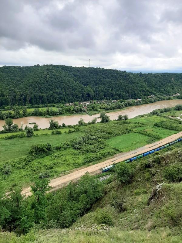mures river railroad