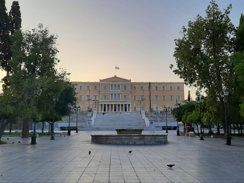 syntagma square athens