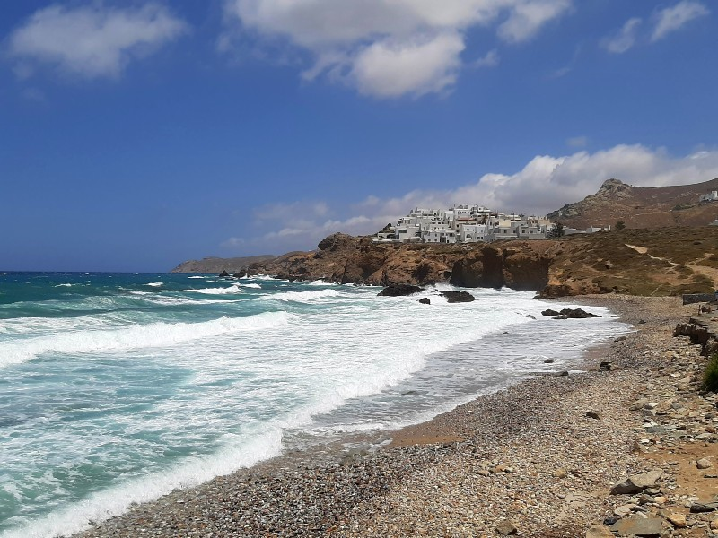 grotta beach naxos