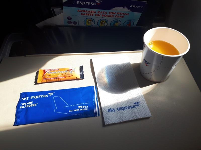 sky express snack atr 42 review