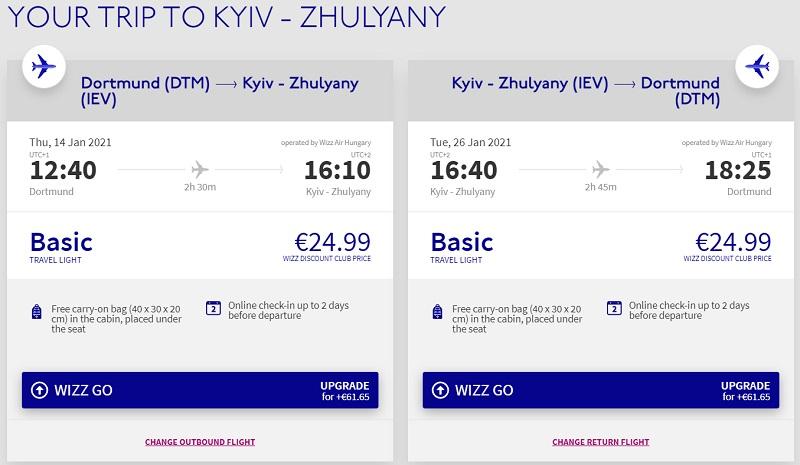 dortmund kiev cheap ukraine flight