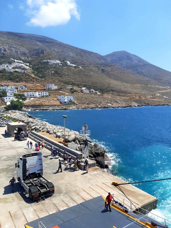 aegiali harbour