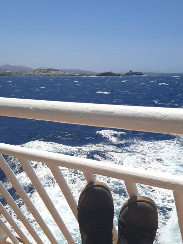 ferry crossing naxos