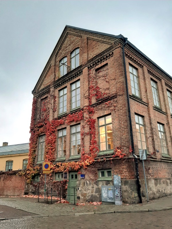 old town building