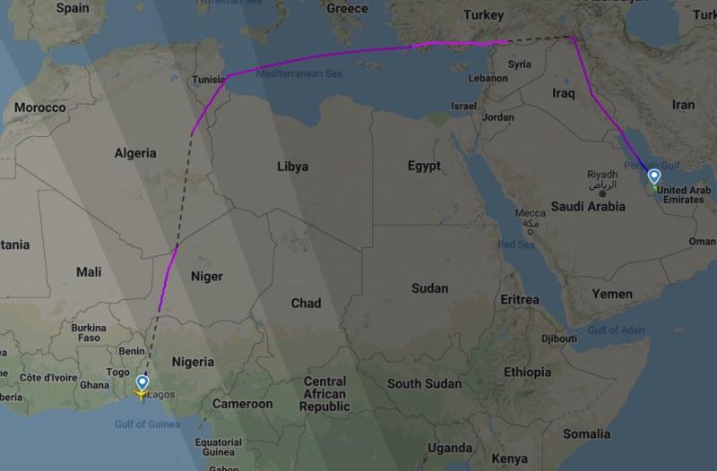 qatar saudi arabia airspace