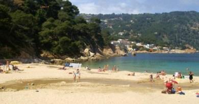 aiguablava beach spain corona summer