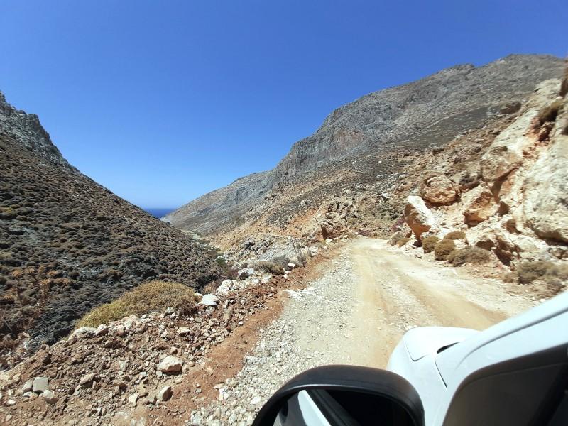 astypalea island road vatses