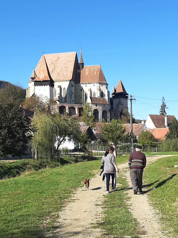 biertan fortified church transylvania