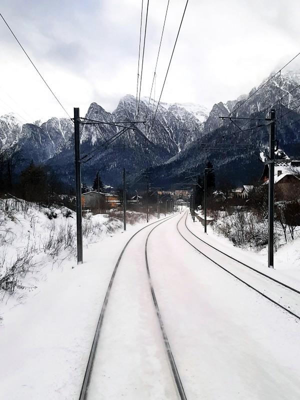 carpathians busteni railway train interrail