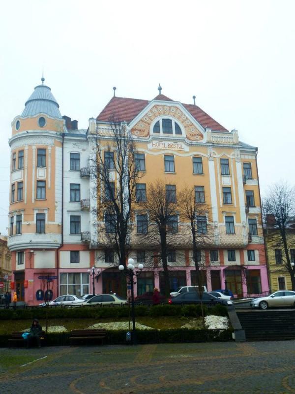 hotel bristol chernivtsi art nouveau