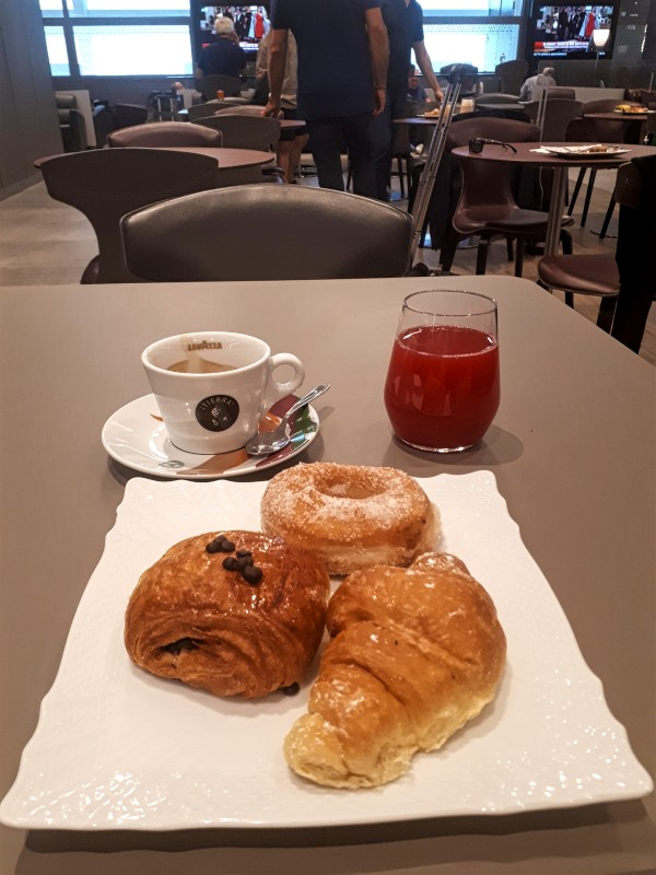 breakfast alitalia