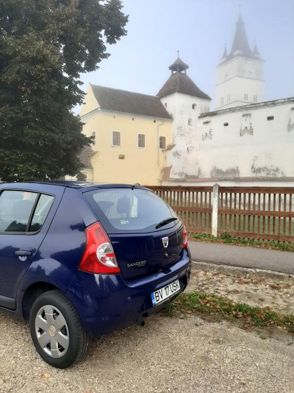 transylvania car dacia sandero harman