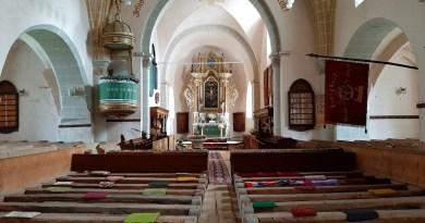 harman fortified church brasov romania