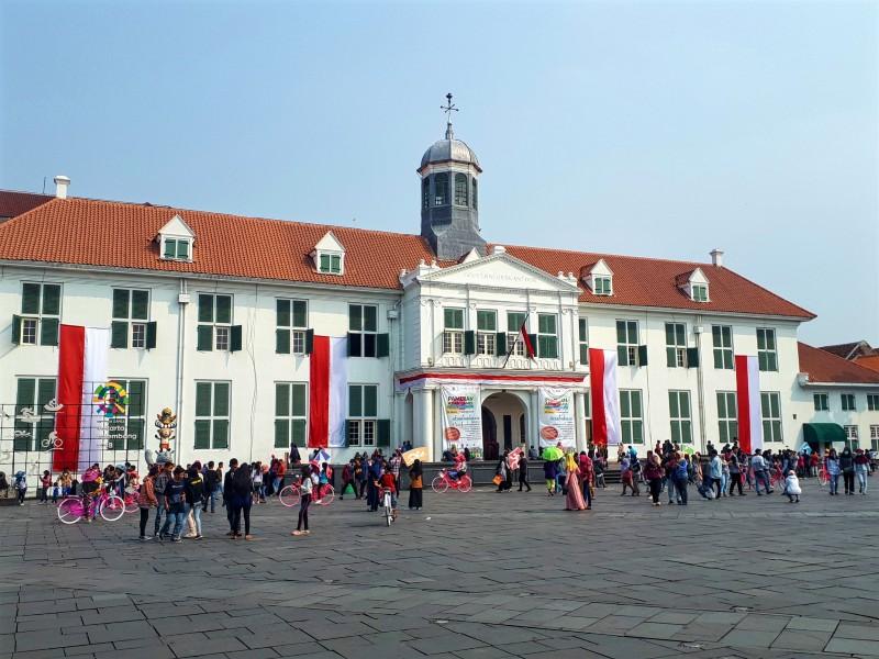 city hall voc jakarta indonesia