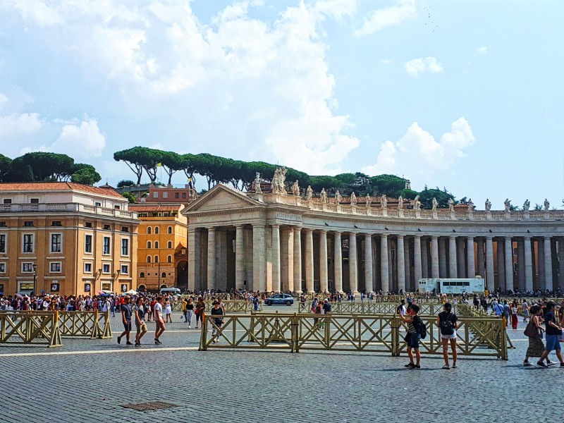 st peters square rome half day vatican