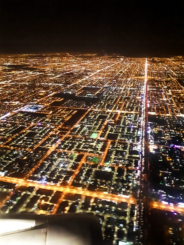 Riyadh night view