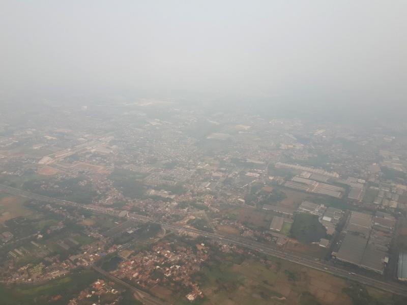 jakarta final approach saudia boeing 777 review