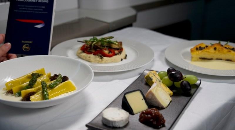 british airways meal box ba food