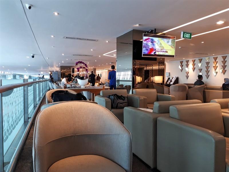 garuda domestic business lounge jakarta indonesia