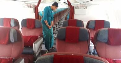 garuda indonesia boeing 737-800 domestic business class review