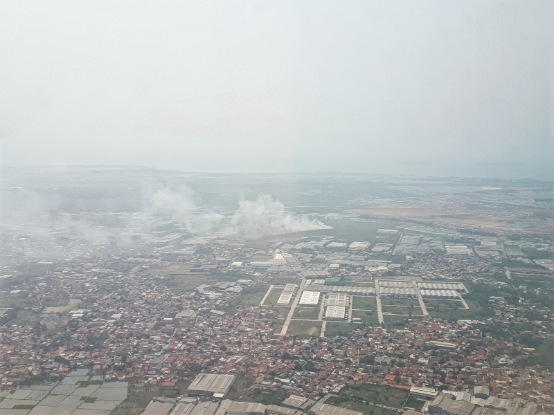 jakarta smog departure
