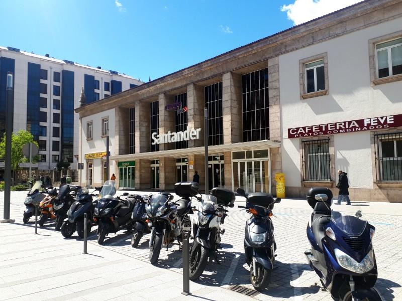 santander feve narrow gauge railway station