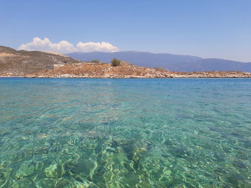 megisti sea water