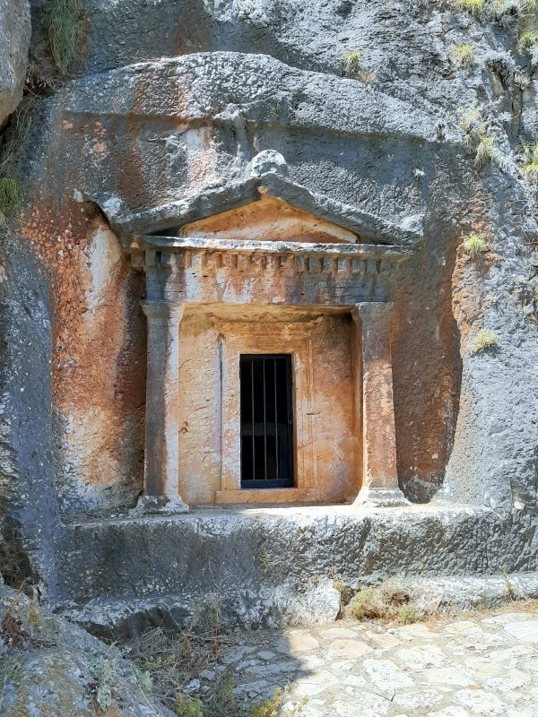 lycean tomb kastellorizo megisti