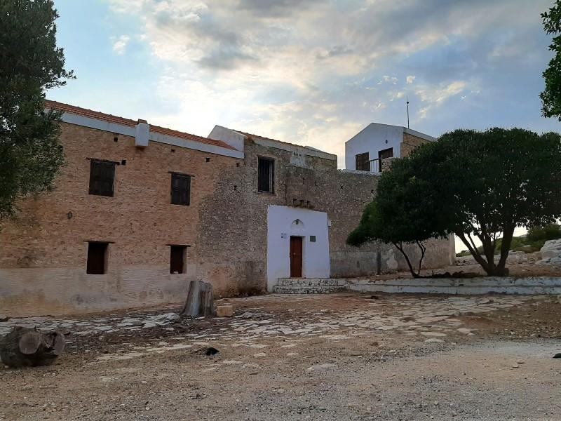 st george of the mountain monastery kastellorizo