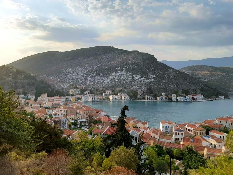 kastellorizo town view hike