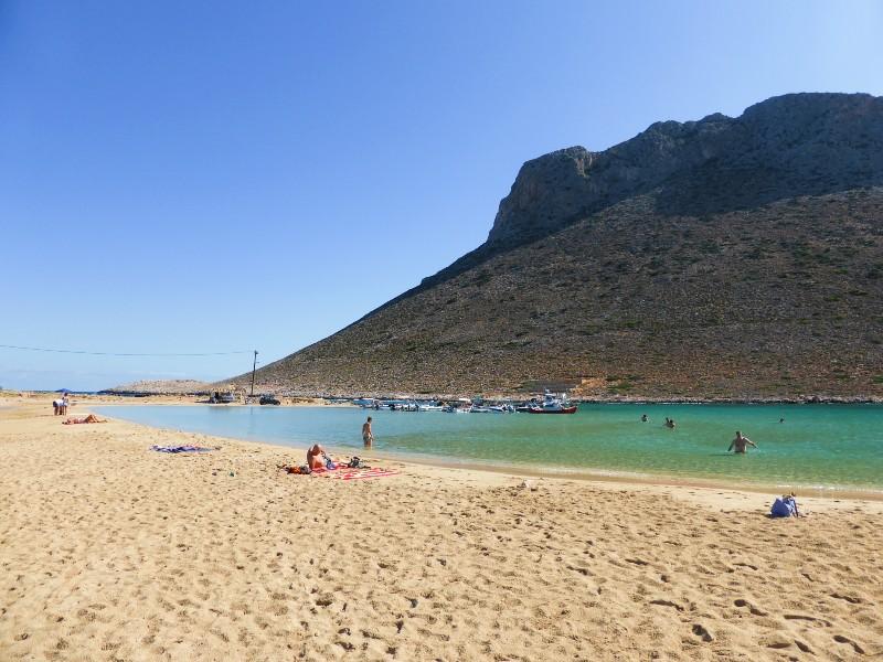 zorba beach crete greece