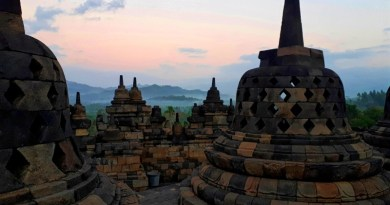 borobudur sunrise view