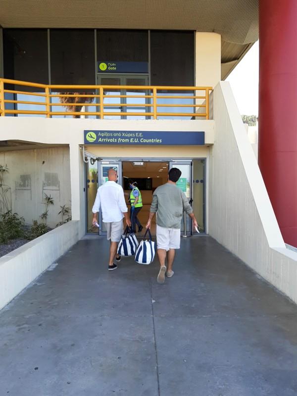 rhodes airport arrivals