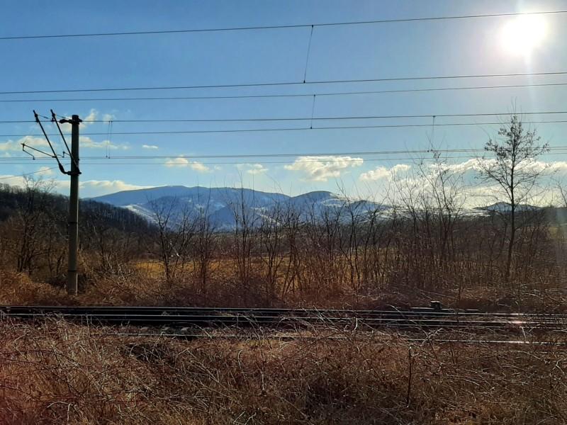 carpathian mountains romania railway