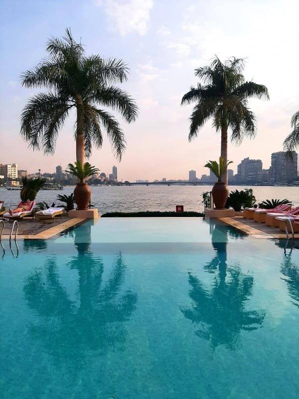 sofitel cairo swimming pool
