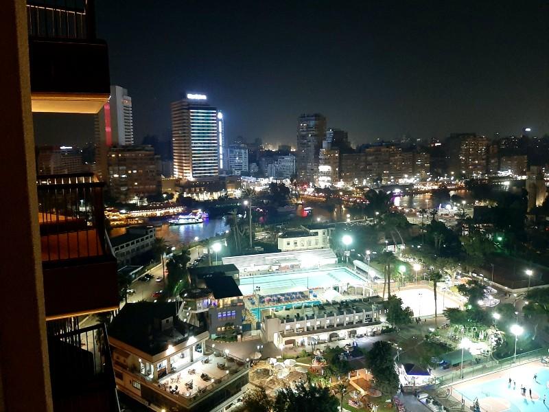 cairo night skyline