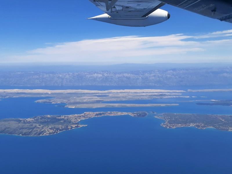 pag dinaric alps croatia trade air let l-410 turbolet