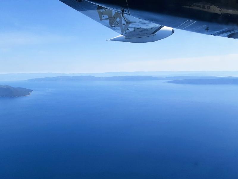 adriatic sea croatia let l-410 turbolet trade air