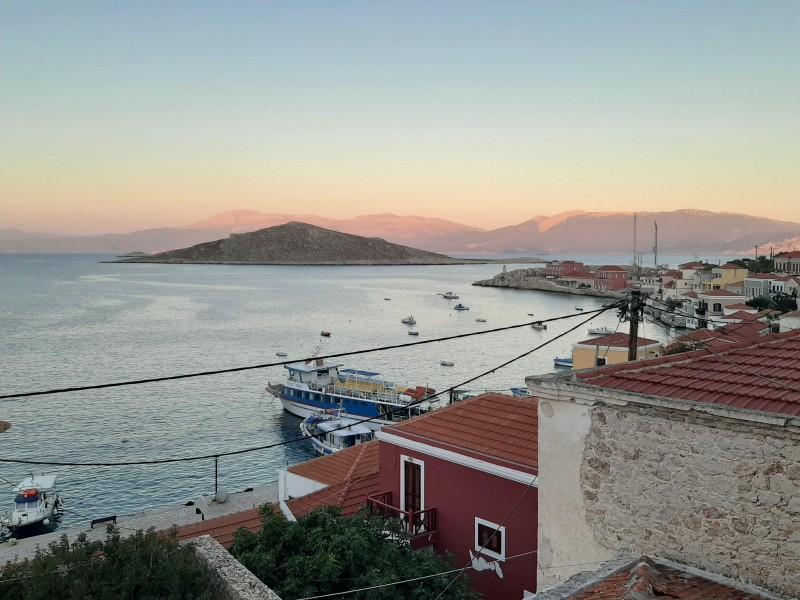 dusk view sea