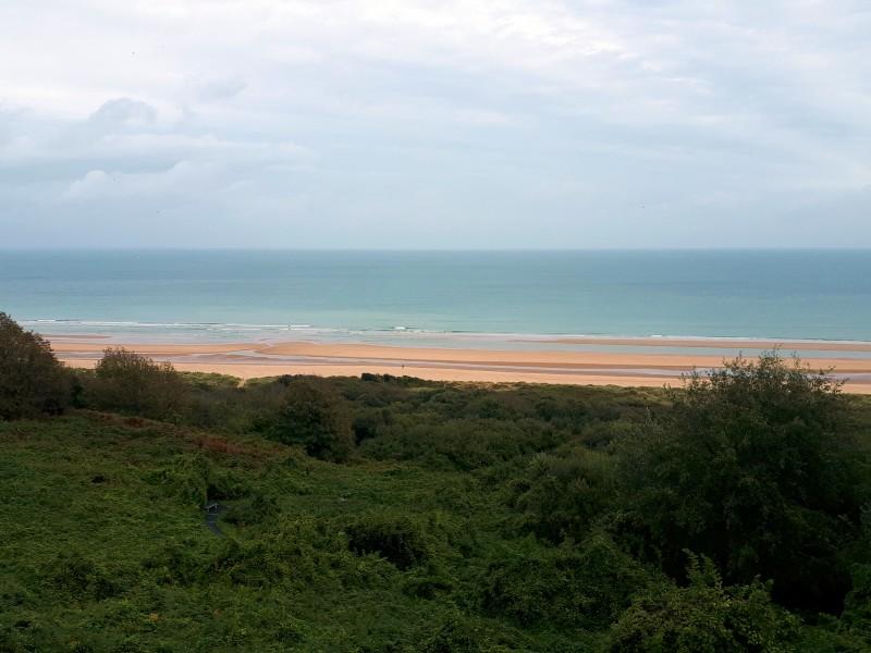 omaha beach d-day sights