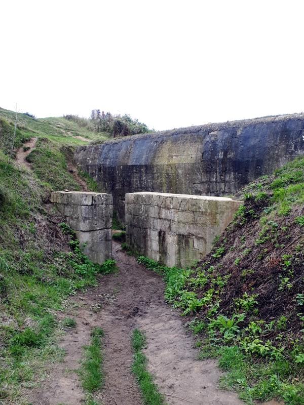 bunker omaha beach normandy d-day