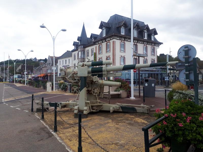anti aircraft gun Arromanches-les-Bains