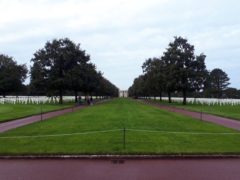 american cemetery colleville-sur-mer d-day