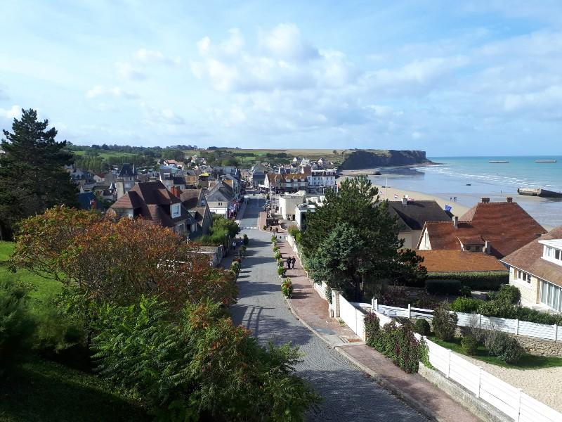 arromanches-les-bains normandy