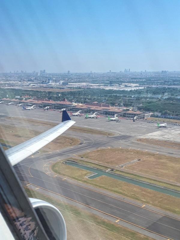 surabaya airport take-off airbus a330