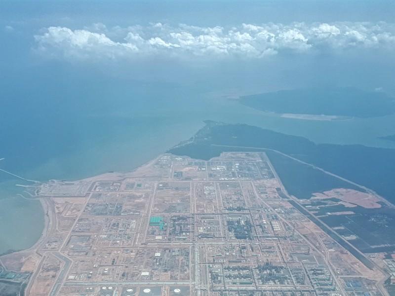 view descent singapore airport