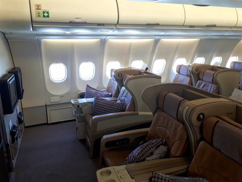 airbus a330 singapore airlines business class