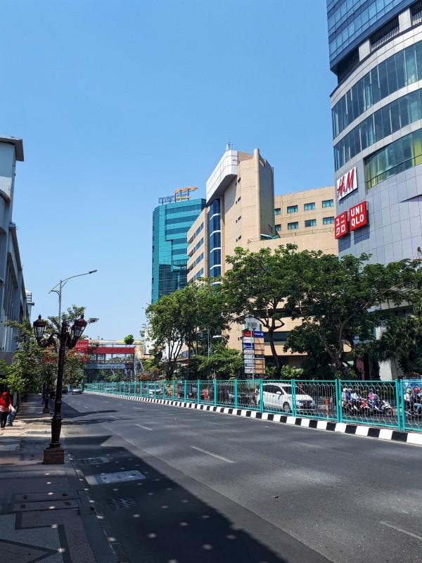 surabaya city centre road